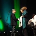 Les échanges de cadeaux, médailles, avec le maire de Salreu