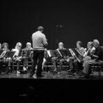 Répétition avant le concert au Ciné Teatro d'Estarreja